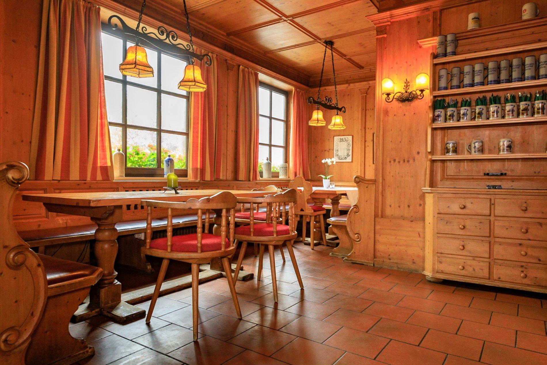 Gastraum im Siegenburger Bräustüberl
