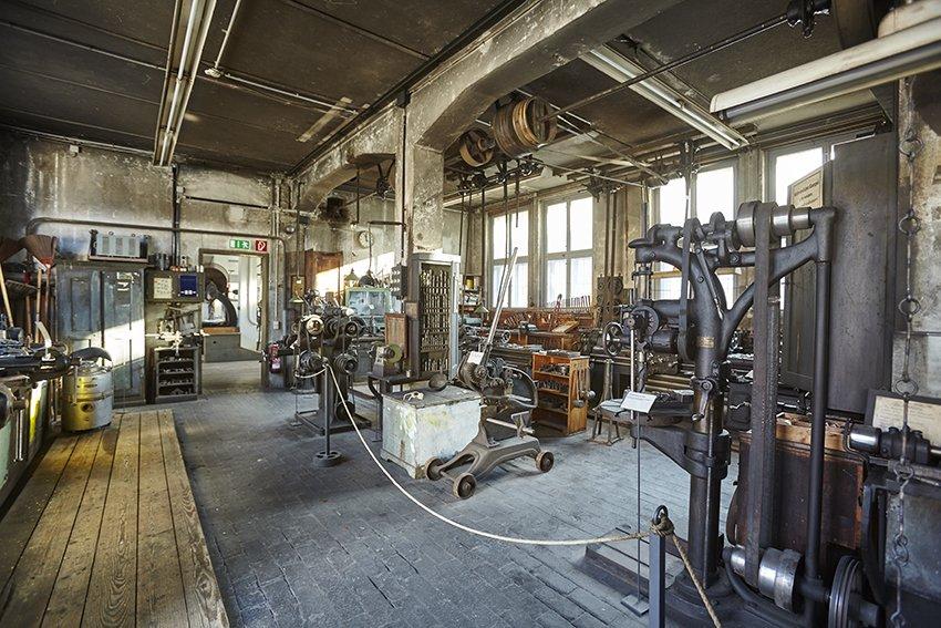 Museum Weiler Textilgeschichte Kesselhaus