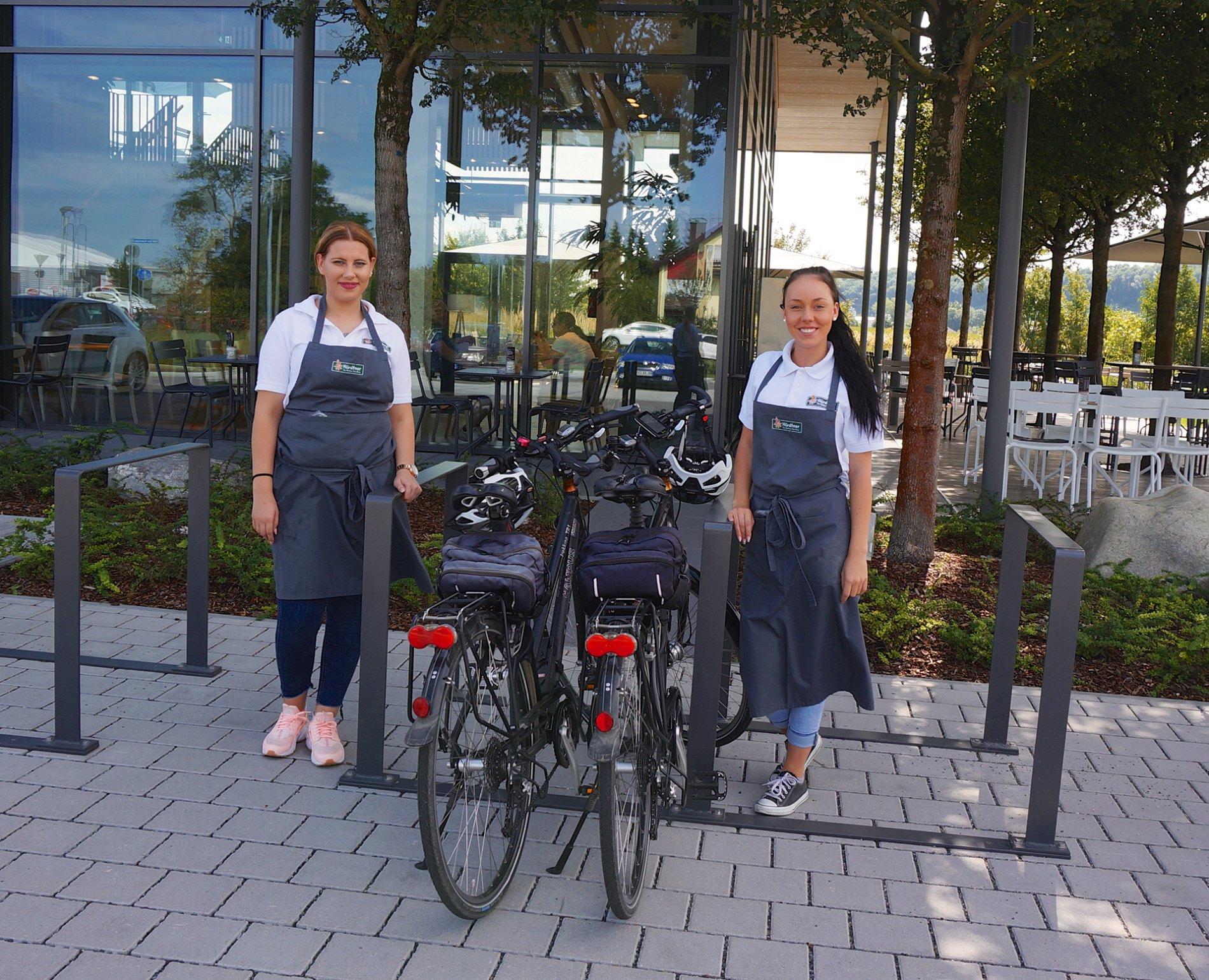 E-Bike-Ladestation Bäckereicafé Härdtner Offenau | HeilbronnerLand