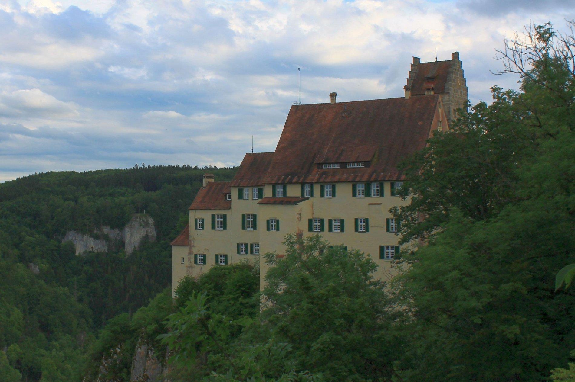Schloss Werenwag im Donautal