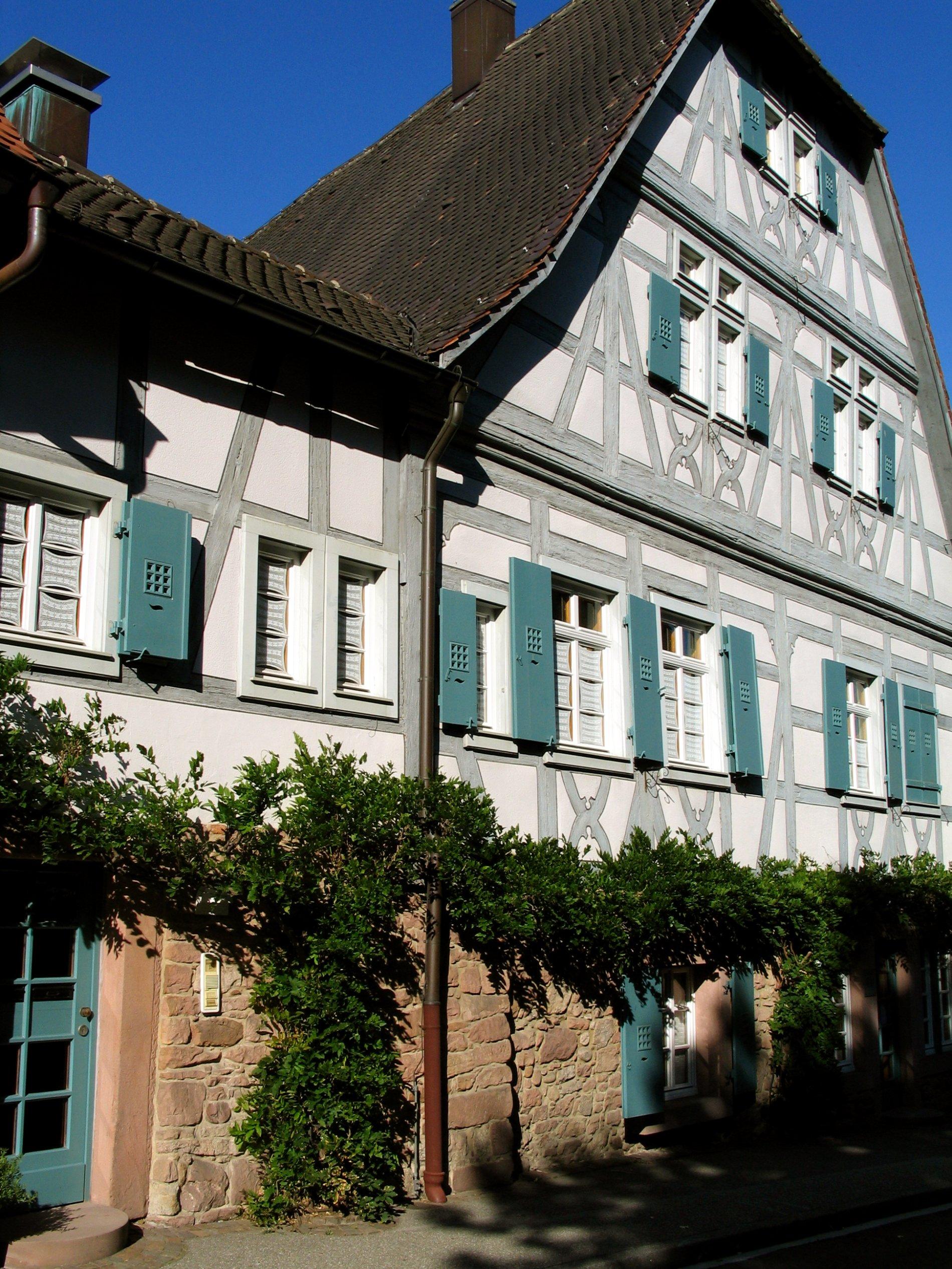 Alter Amtshof in Gernsbach im Murgtal