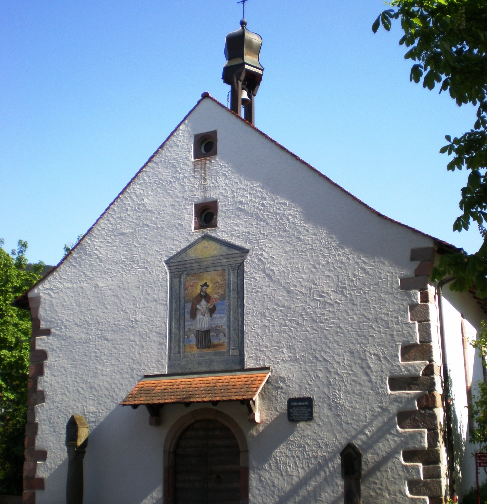 Die Mühlenkapelle aus dem Jahre 1622