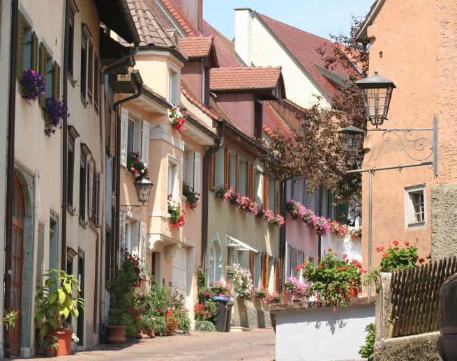Blick in die Lupfenstraße