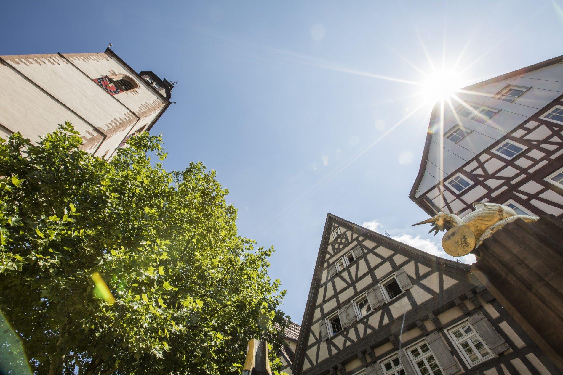 Außenansicht des Alten Turm Nagold