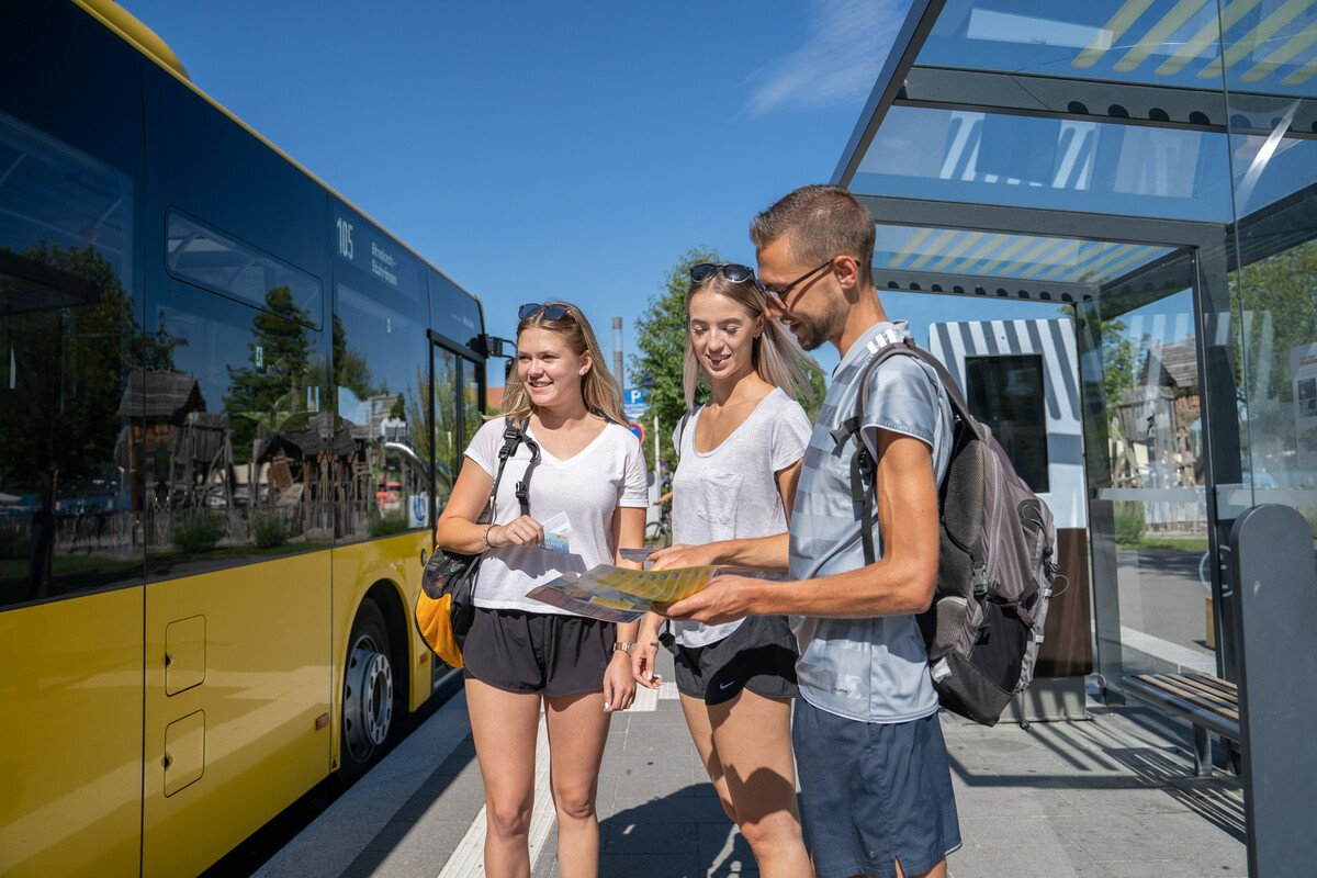 Bushaltestelle in Bodman-Ludwigshafen