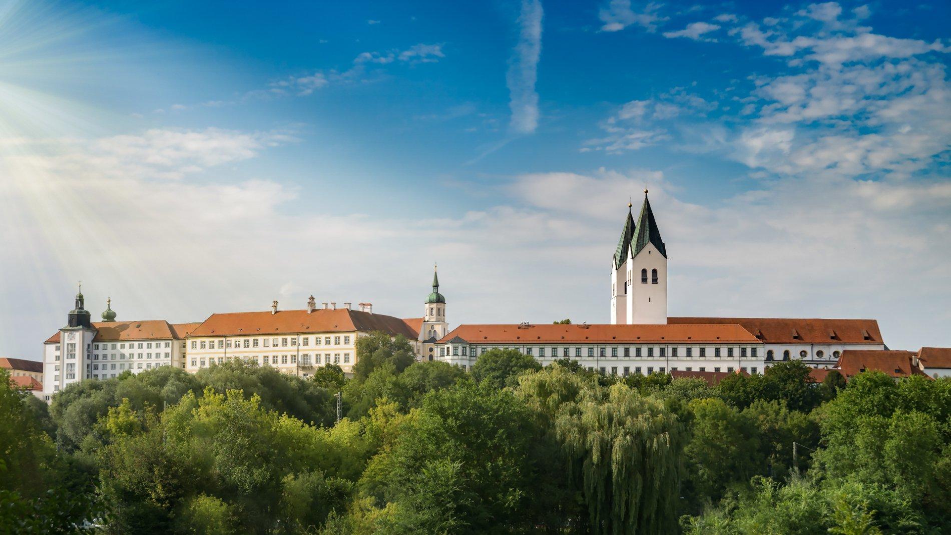 Der Freisinger Mariendom ist das Wahrzeichen von Freising