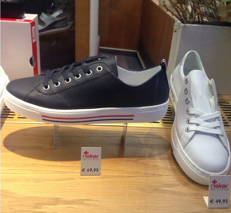 Unternehmen Wolfach - Schuhhaus Mast - Produkte Sneaker marine weiss