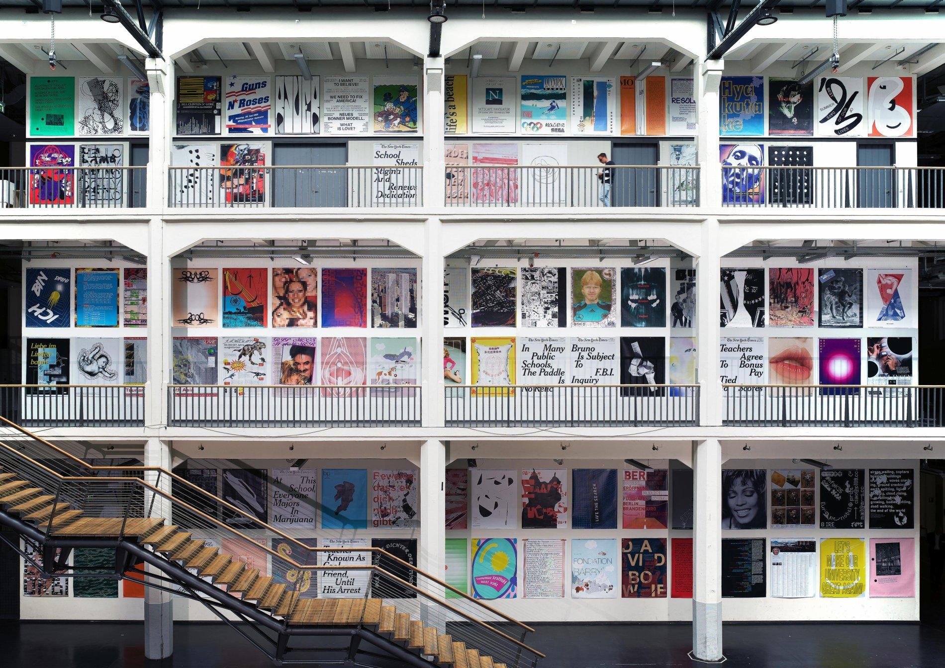 Kunstwerke in der Hochschule für Gestaltung