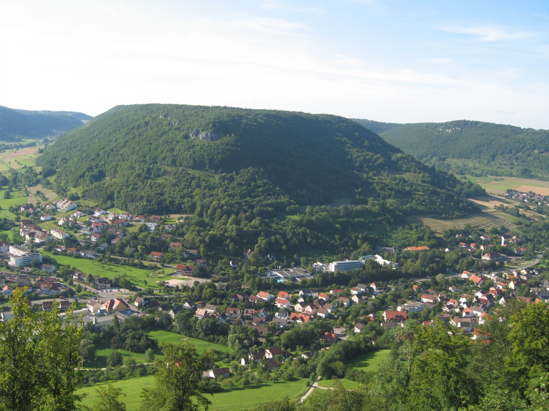 Luftaufnahme von Bad Ditzenbach