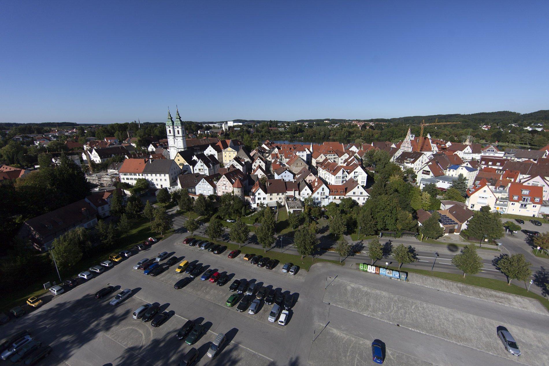 Parkplatz Bleiche direkt in Altstadtnähe