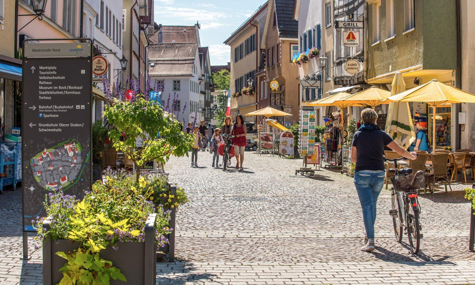 Lebendige Marktstraße
