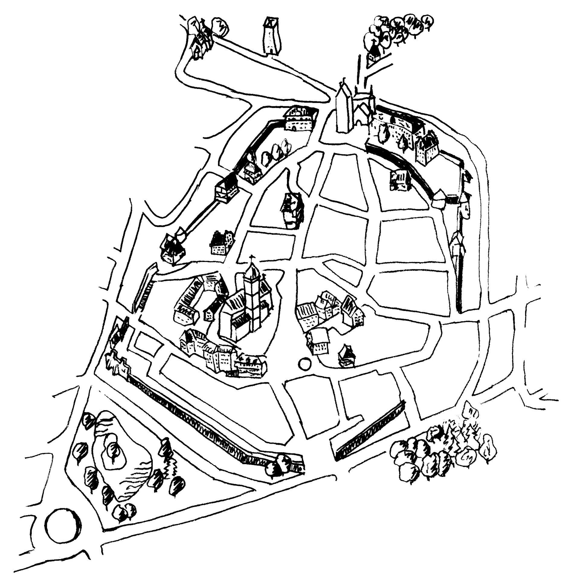 Plan Stadtrundgang Altstadtrallye