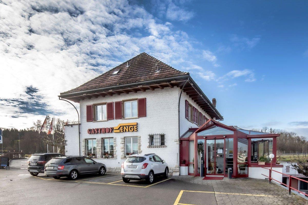 Gasthof Enge Hotel Biberist aussen Solothurn