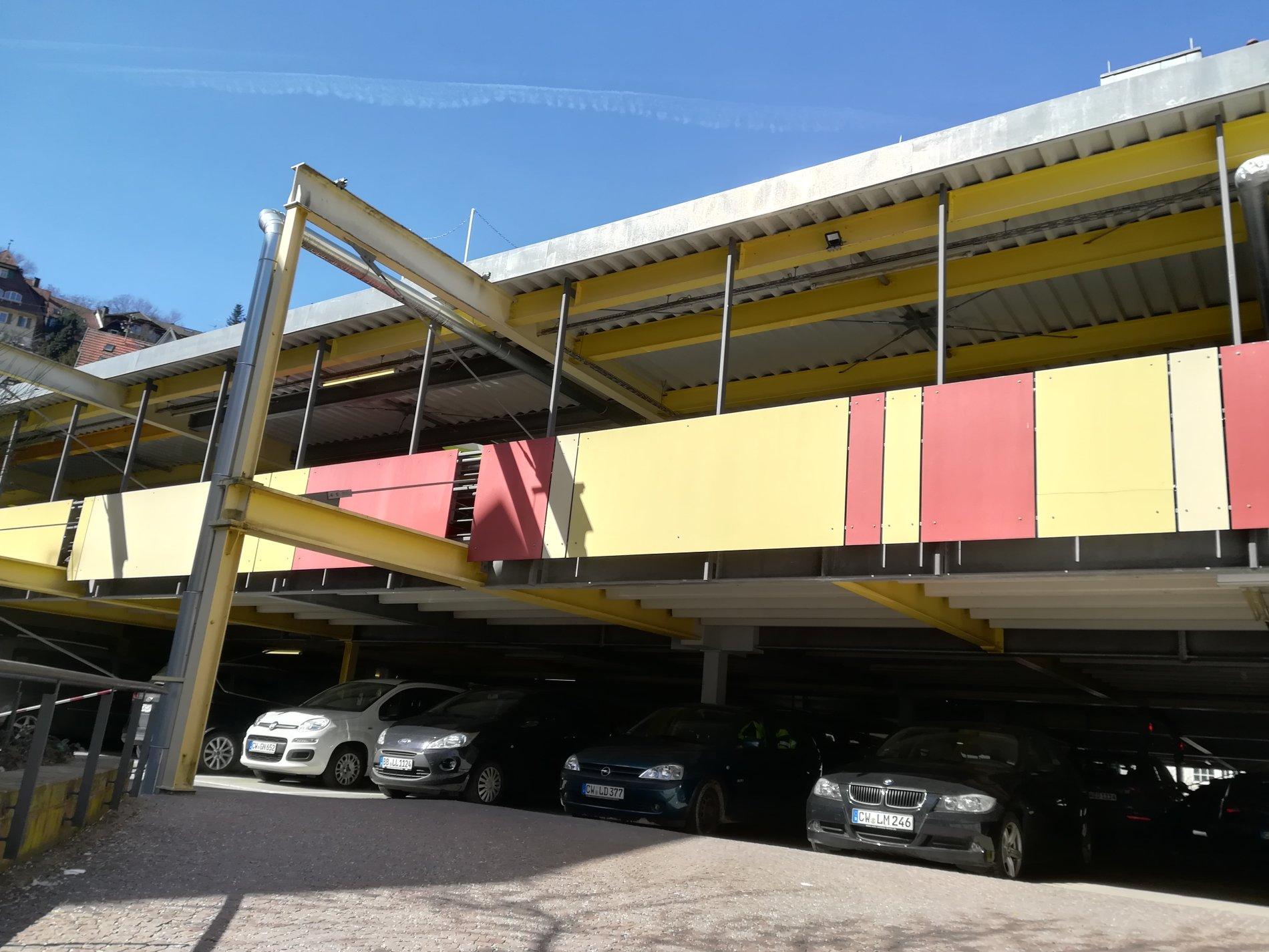 Parkhaus Haggasse Calw