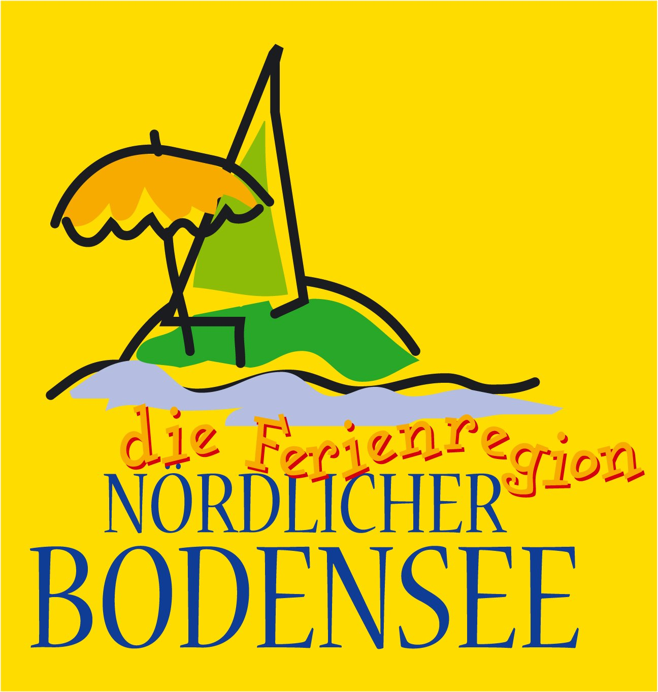 Logo of the holiday region Northern Lake Constance