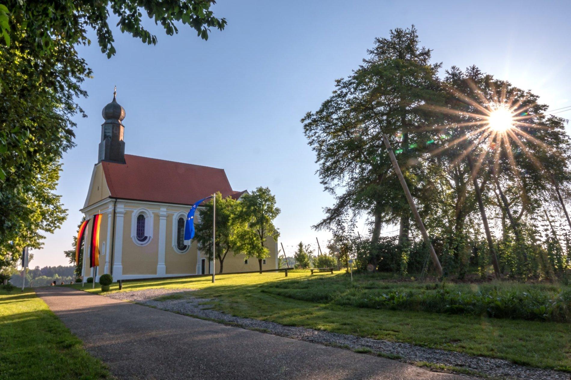 Wallfahrtskapelle St. Anton in Ratzenhofen
