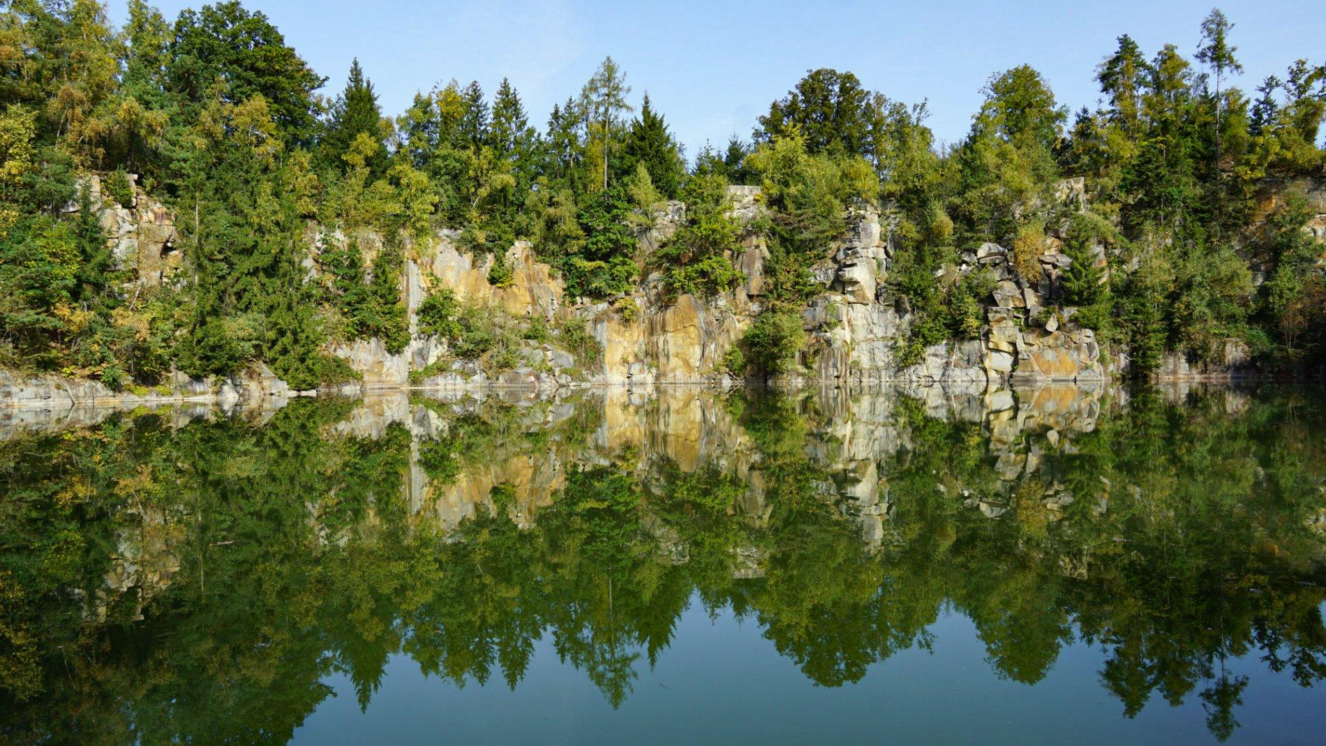 Spiegelung in Büchlberg