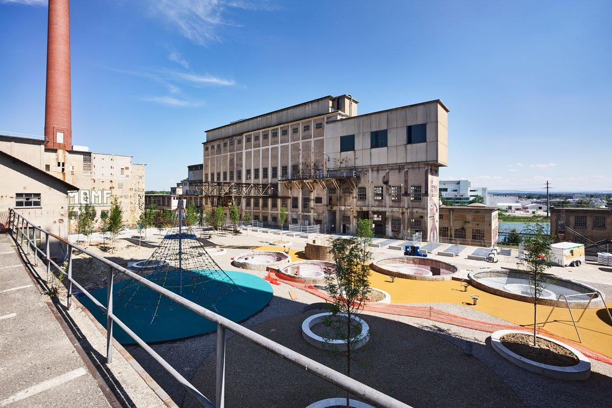 Spielplatz Attisholz