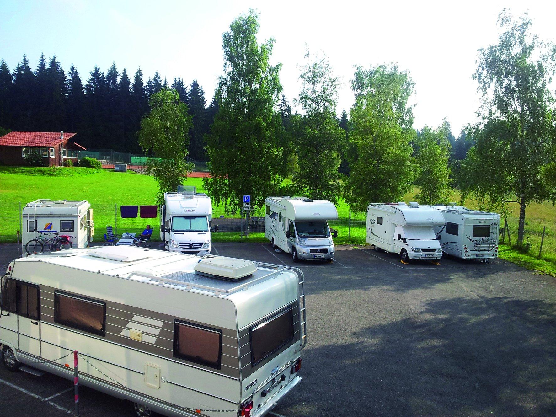 Wohnmobilstellplatz am Waldbad