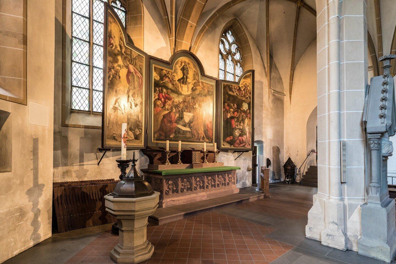 Bingen am Rhein - Basilika St. Martin