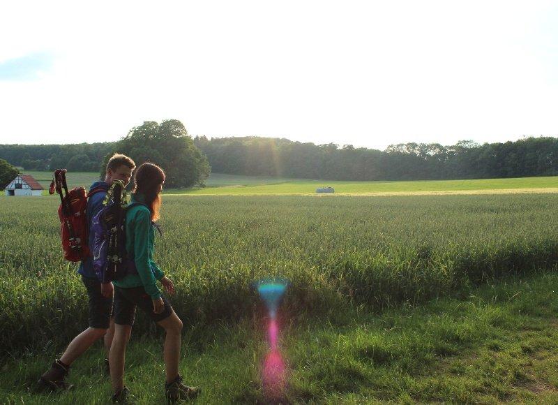 Wandern am Rutschenfelsen