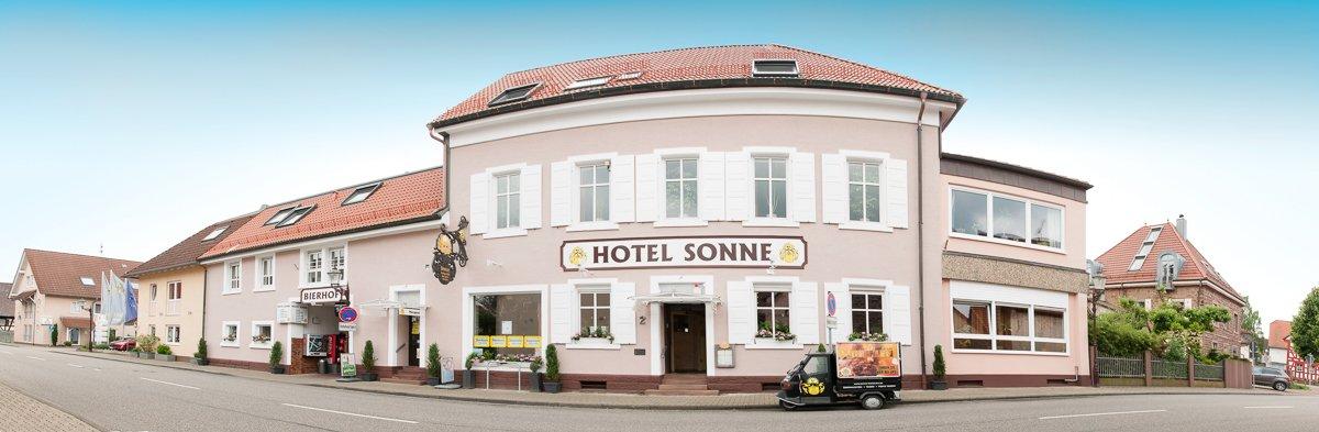 Hotel und Restaurant Sonne - Außenansicht