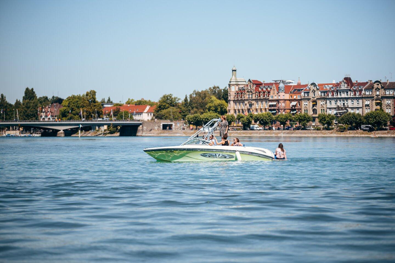 Bootsfahrt auf dem Bodensee