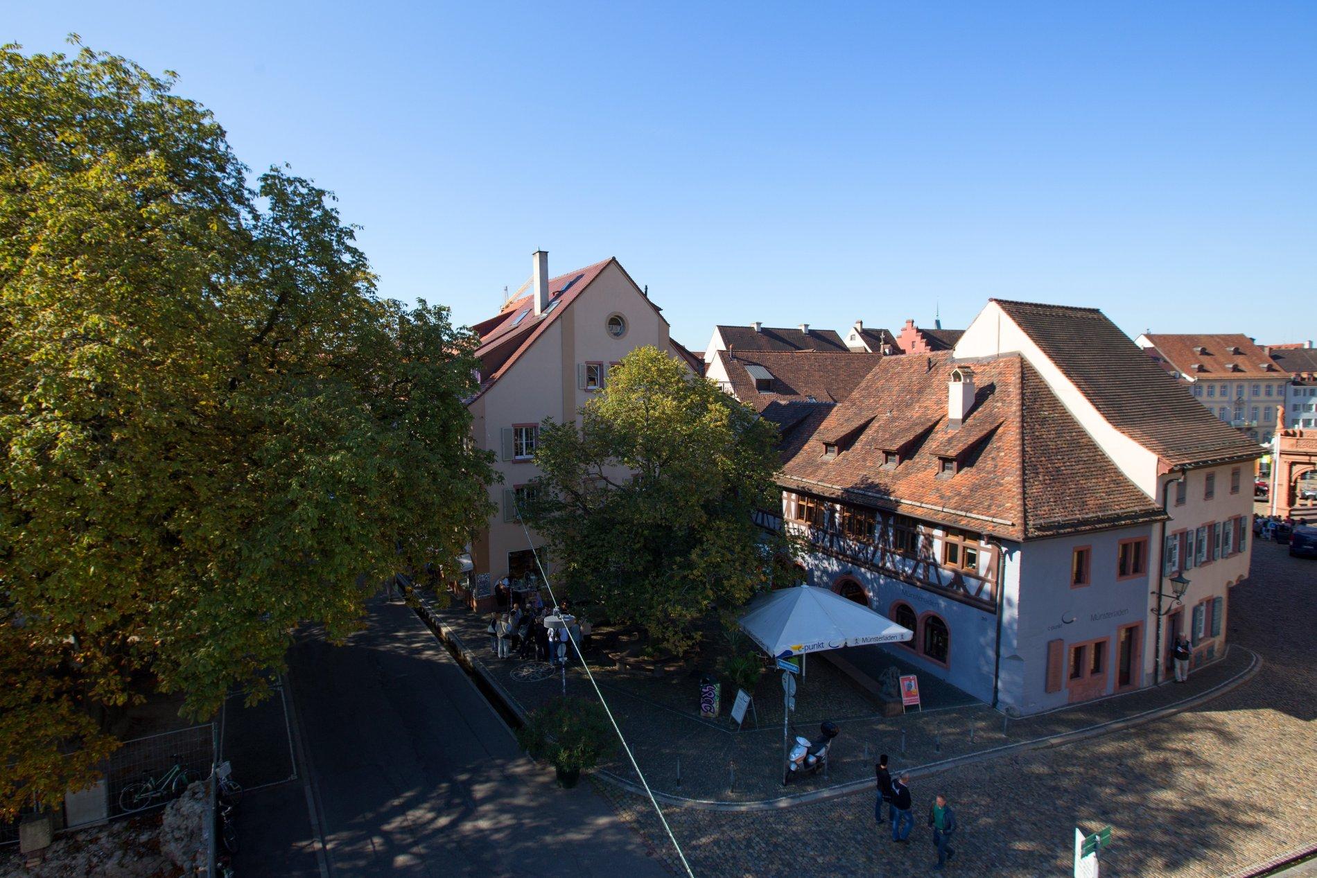 Freiburger Münsterladen am Münsterplatz