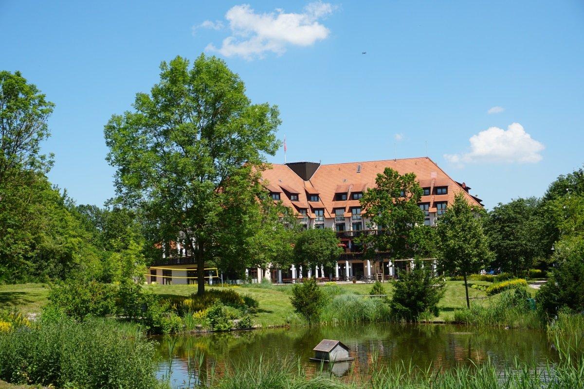 Flair Park-Hotel Ilshofen Außenansicht