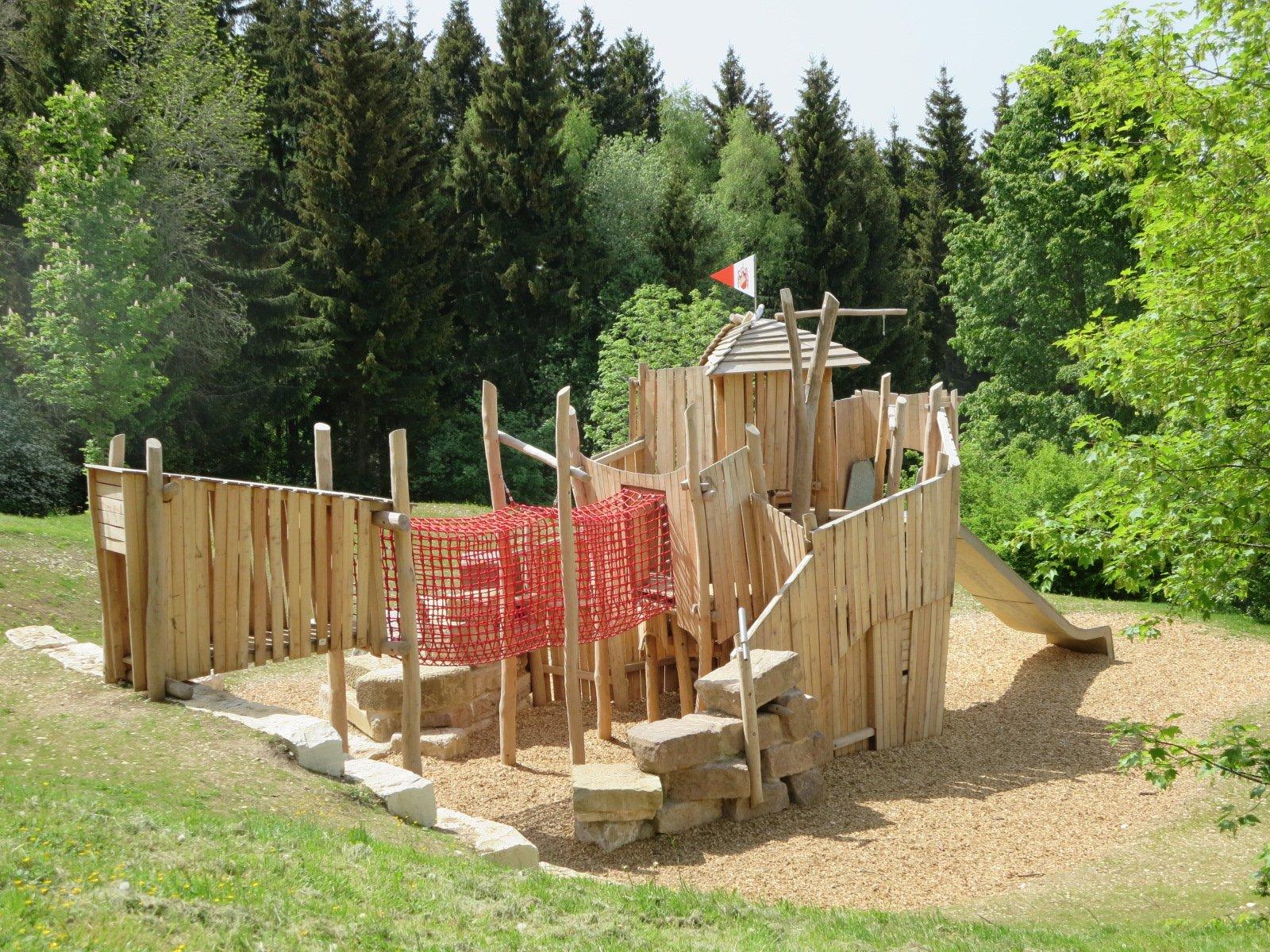 Erlebnistreff Burg Oberhohenberg - Spielplatz