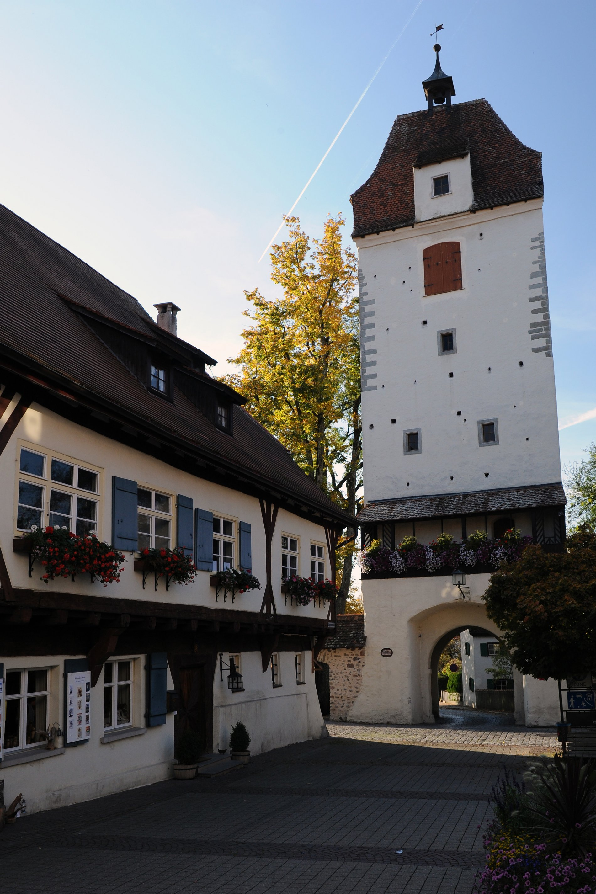 Espantor-Turm mit Städtischer Galerie in Isny