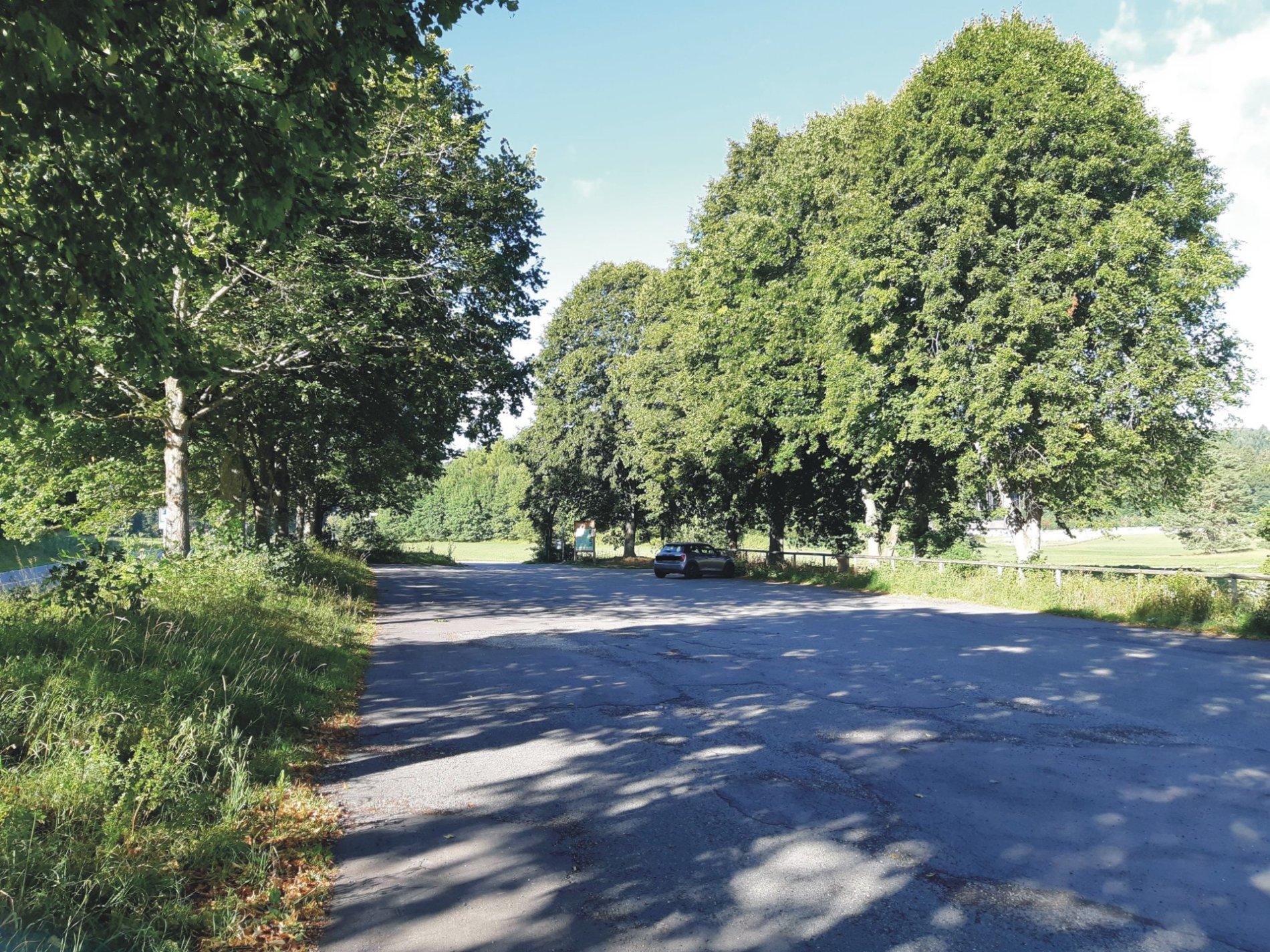 Wanderparkplatz Stählernes Männlein