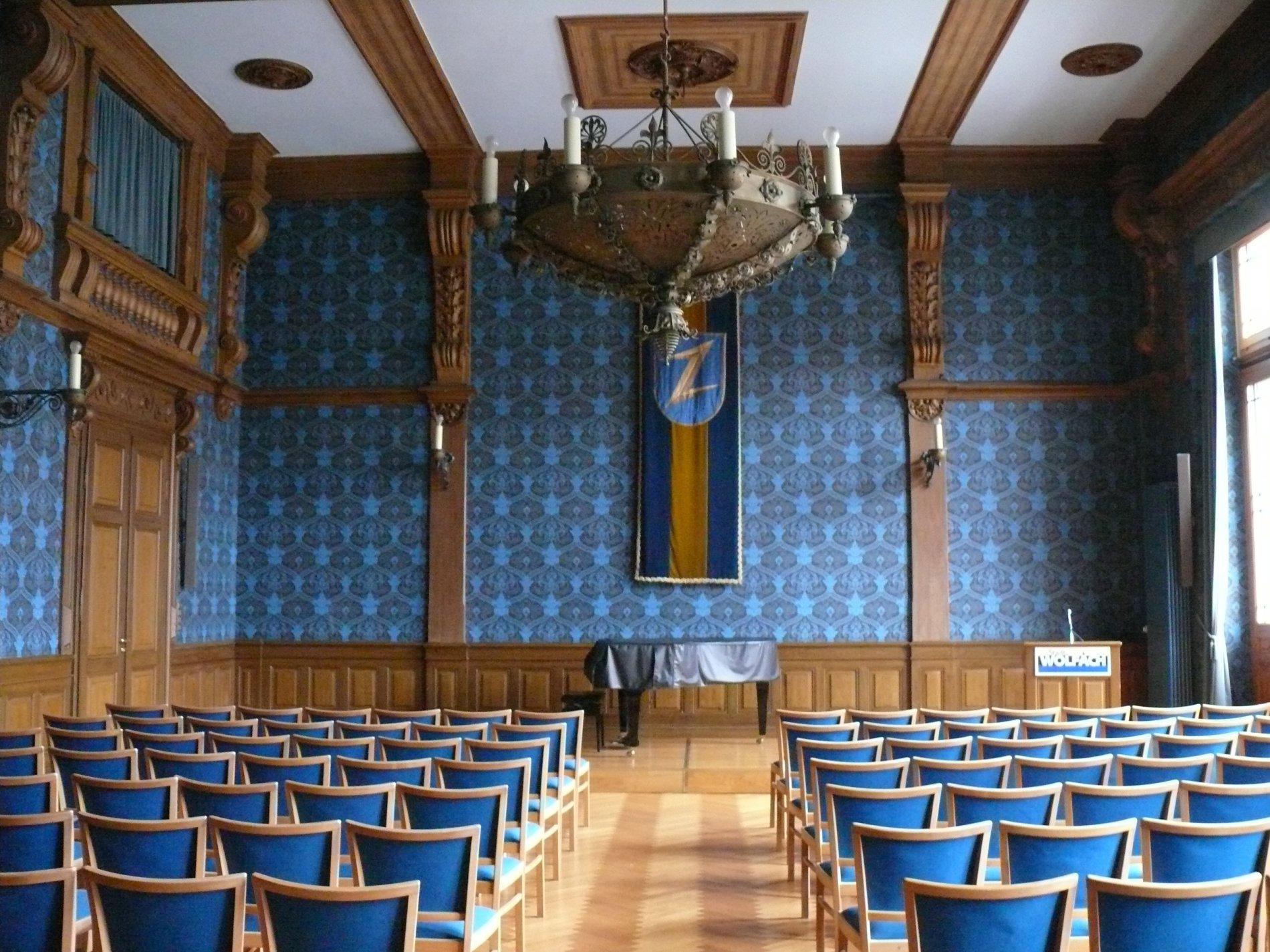 Rathaussaal im Wolfacher Rathaus