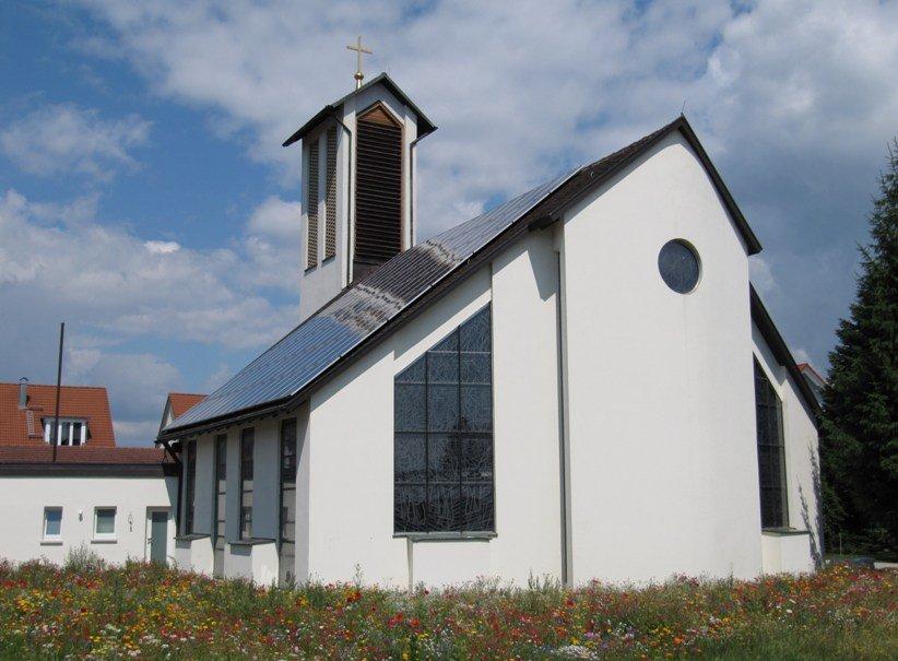 Außenansicht Heilig-Geist-Kirche