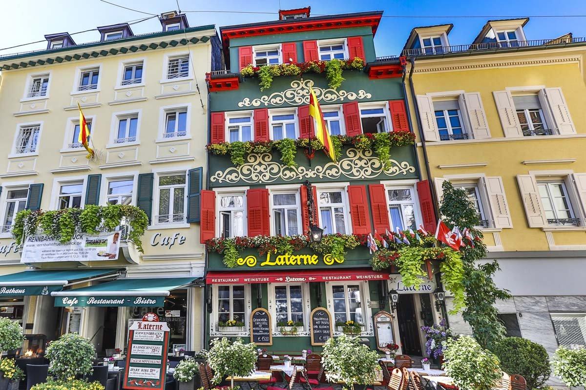 Außenansicht Restaurant Laterne