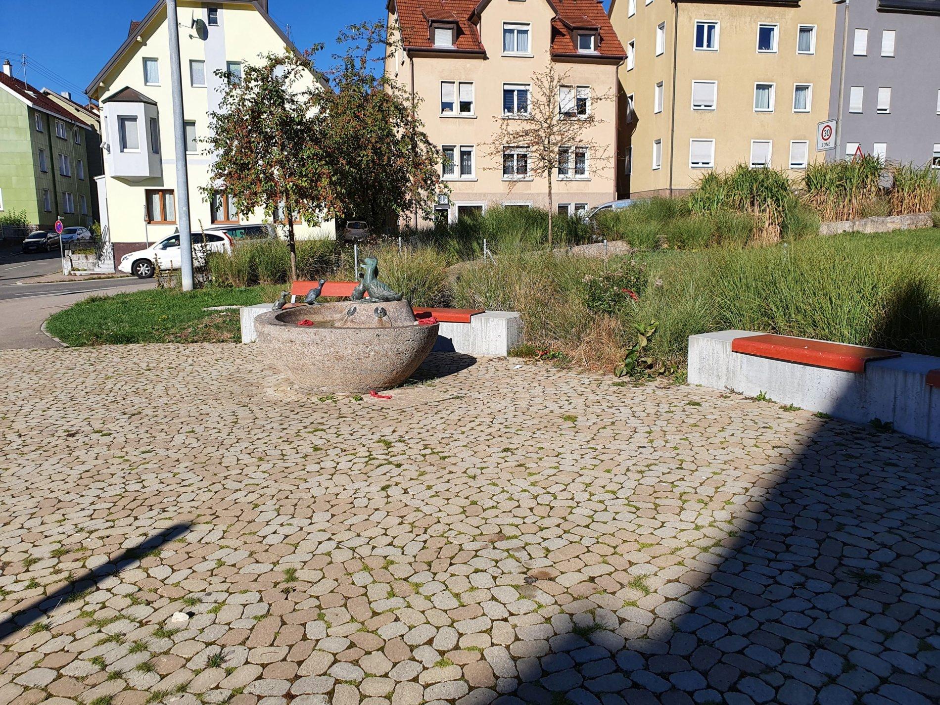 Spielplatz Entenbrünnle-Das schöne beliebte Entenbrünnle!