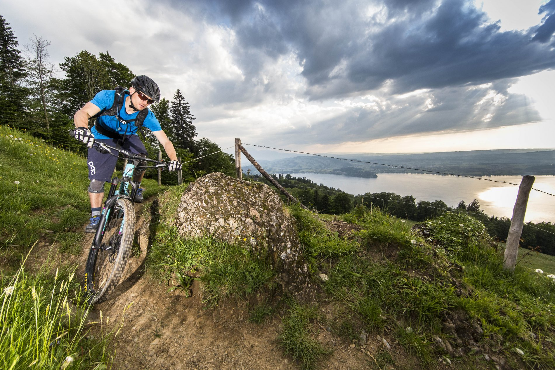 Mountainbike Trail Zug