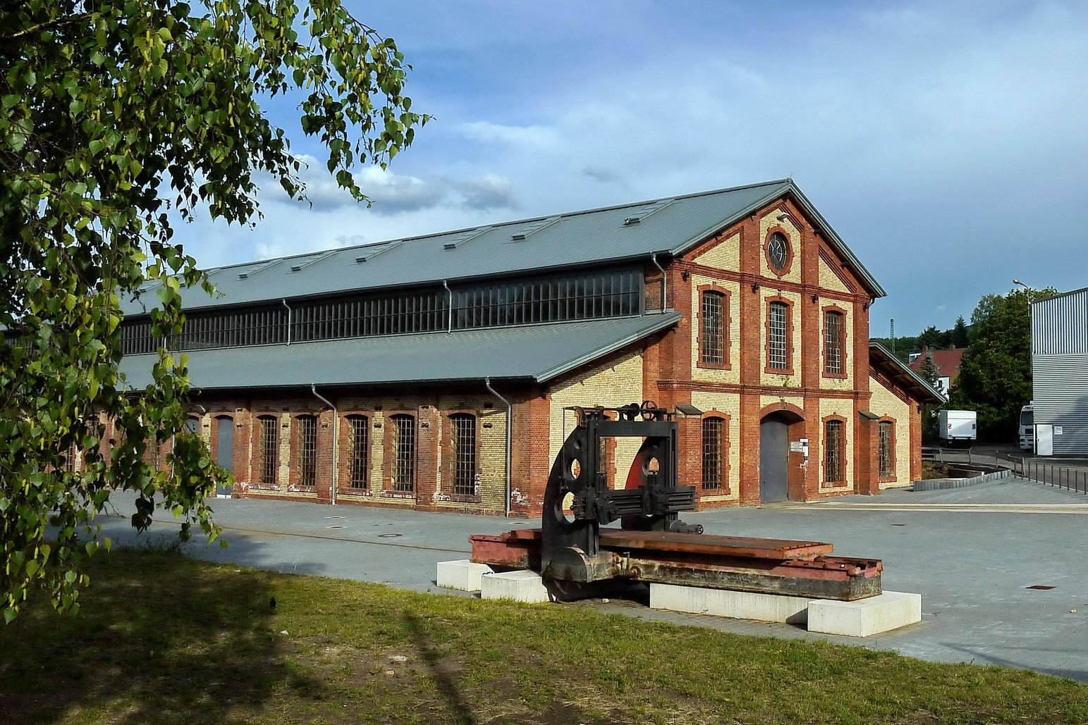 Außenansicht Mechanische Werkstatt der Alten Schmelz