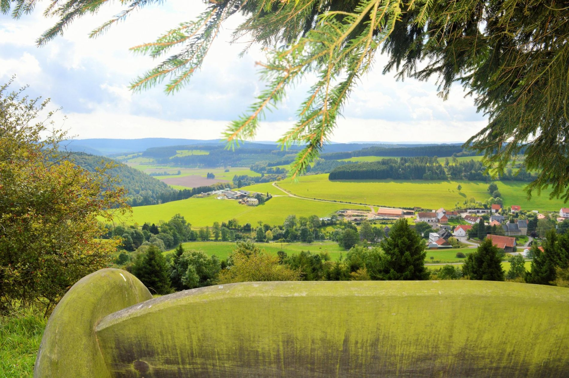 Blick vom Grotenberg auf Welleringhausen