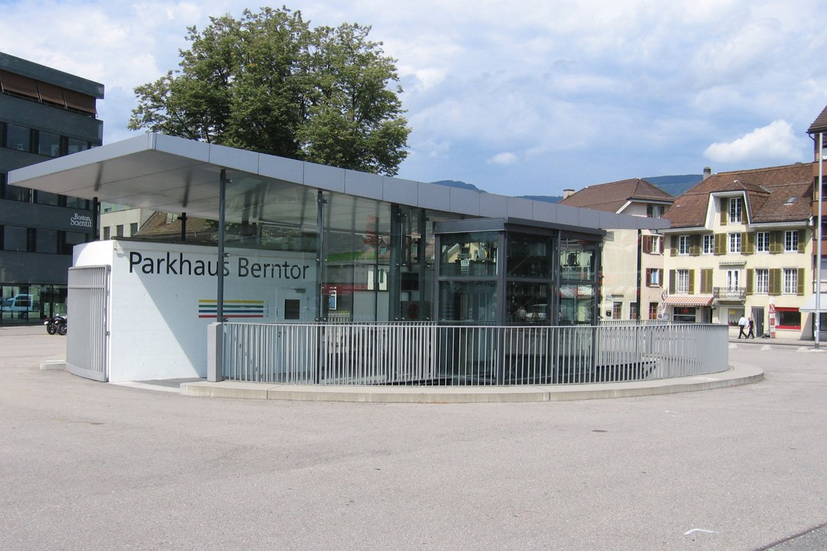 Parkhaus Berntor, Solothurn