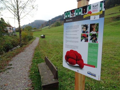 Kirnbacher Bollenhut Talwegle - Tafel 2