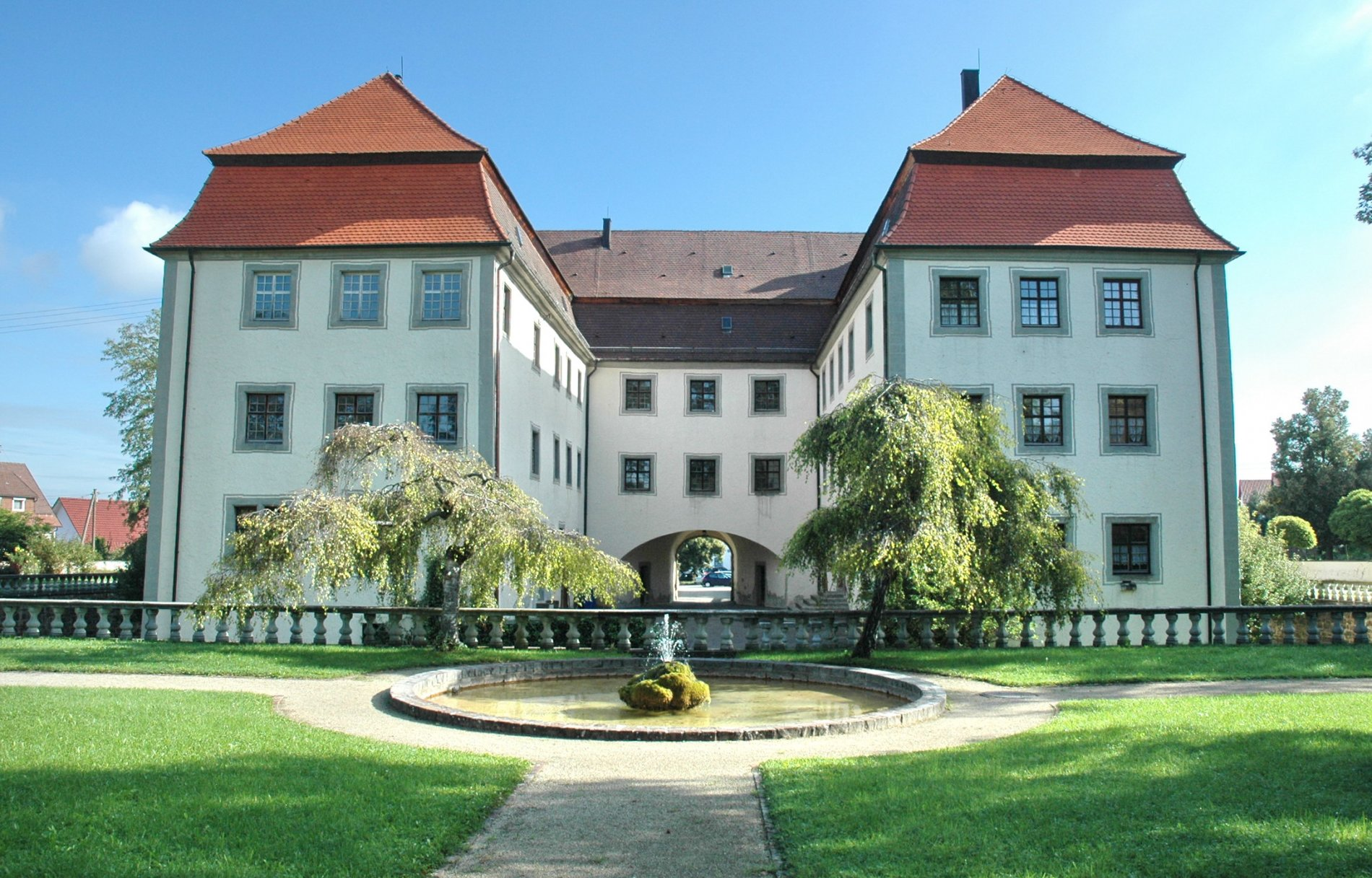 Wasserschloss Geislingen