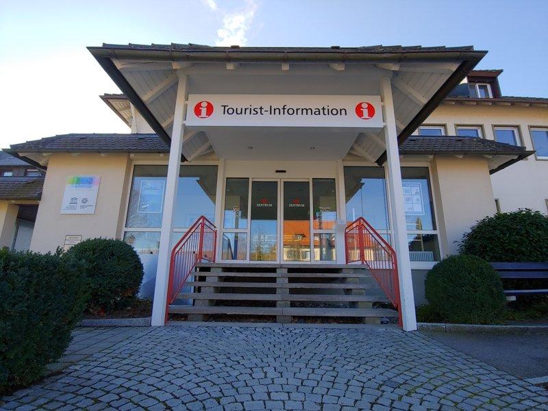 Eingang Tourist-Information Reichenau