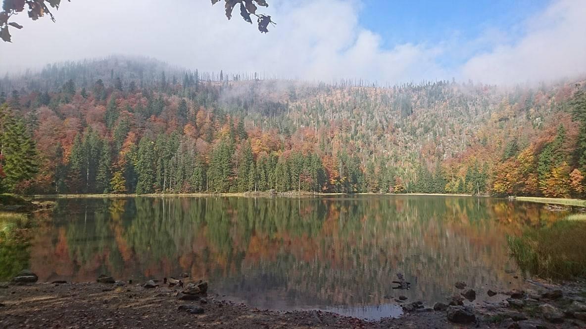 Rachelsee im Herbst