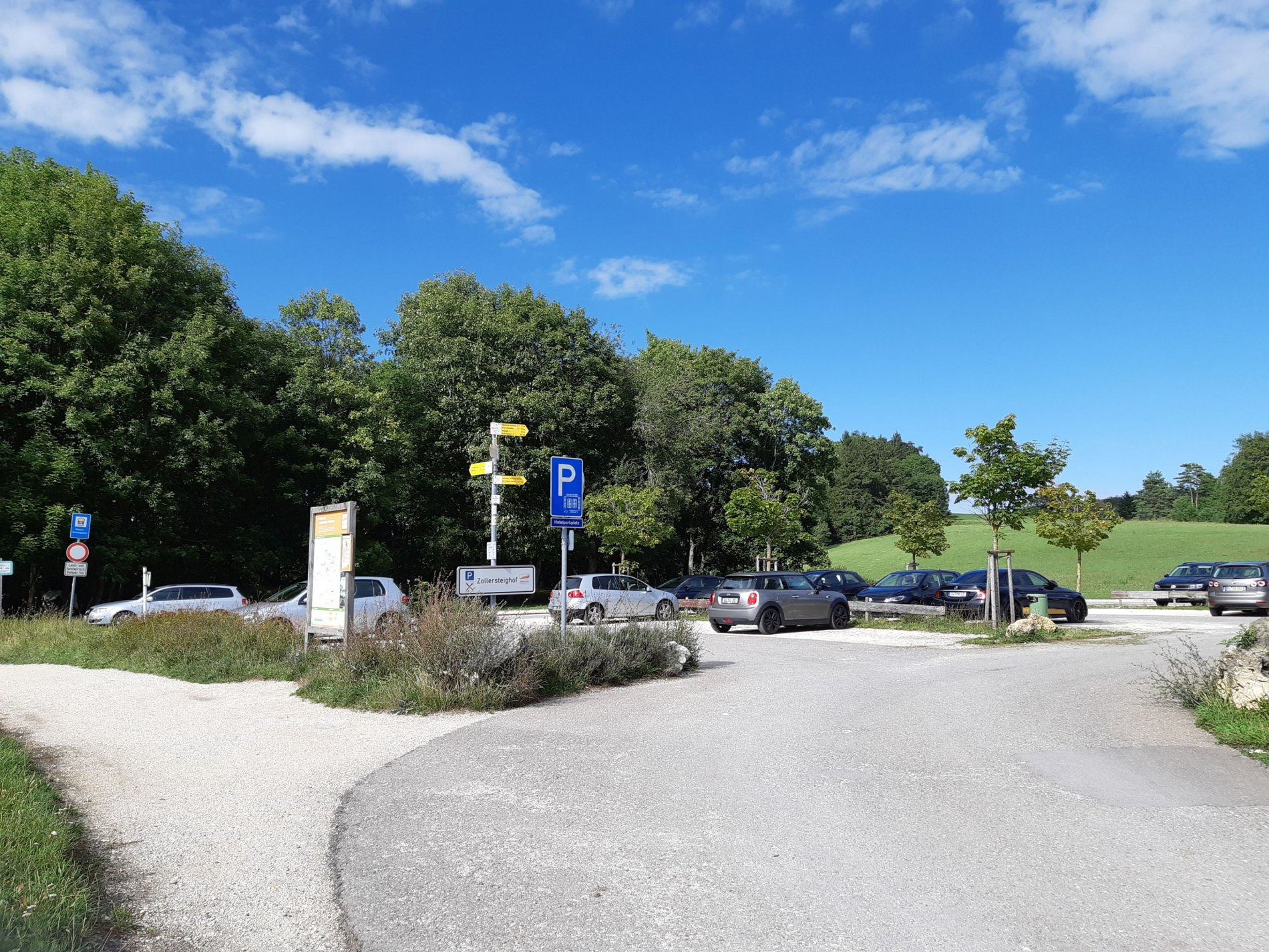 Parkplatz Zollersteighof Albstadt-Onstmettingen