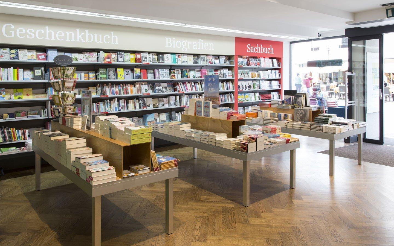Bücher Lüthy Solothurn Bücherei aussen