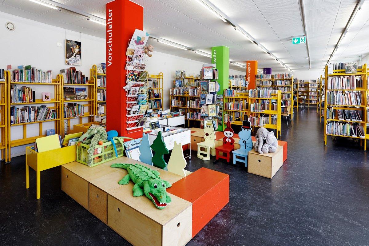 Bereich Kinder & Jugend der Zentralbibliothek Solothurn