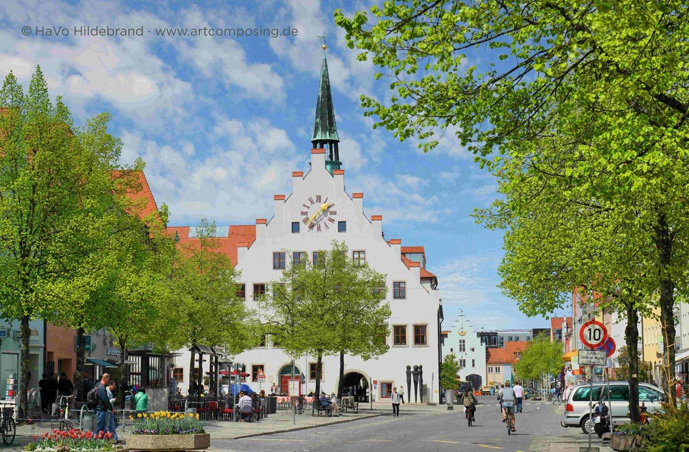 Das spätgotische Rathaus in Neumarkt i.d. OPf.