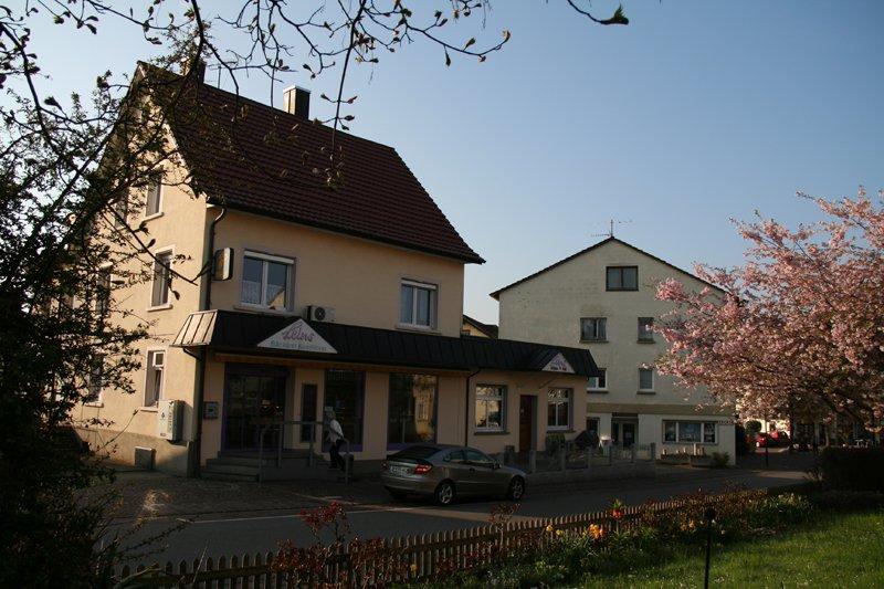 Aussenansicht Café Leins