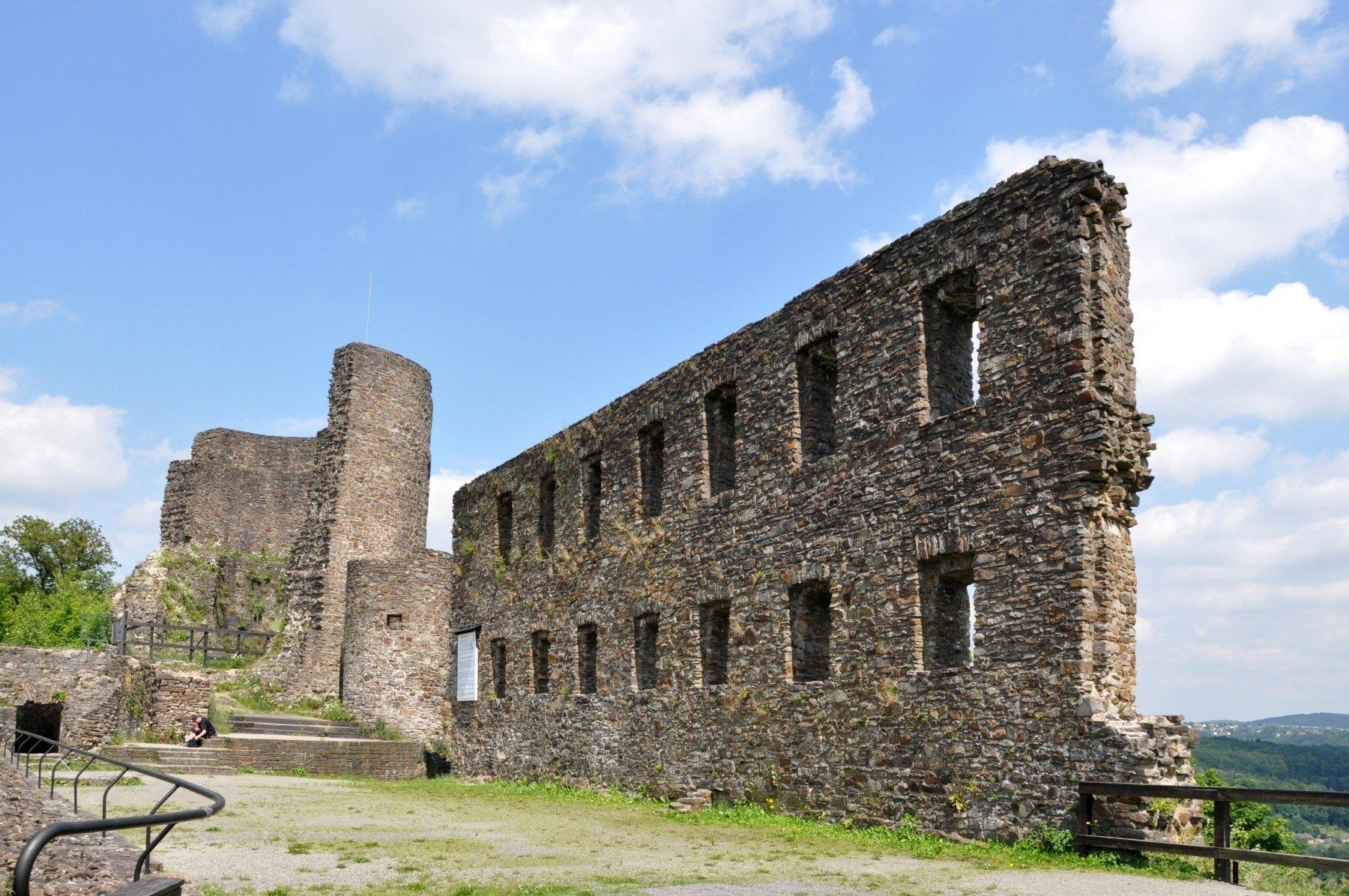 Burg Windeck im Siegtal